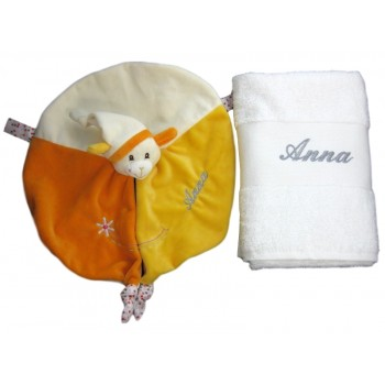 Coffret doudou Gipsy Smile orange