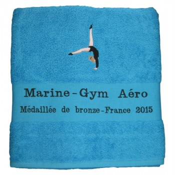 Serviette gym fille