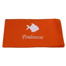 Serviette de table poisson