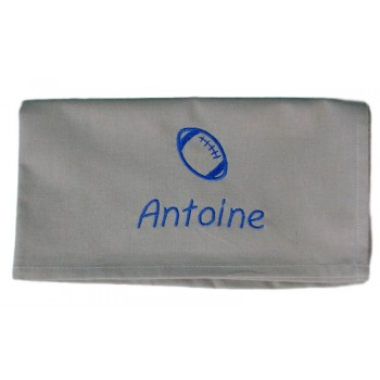 Serviette de table rugby