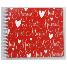 """Livre d'or """"Just Married"""""""