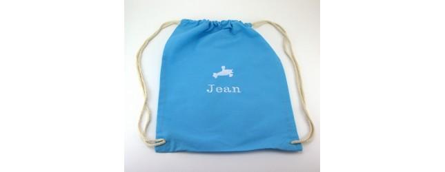 sac à dos coton brodé
