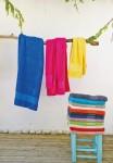 Serviettes de toilettes et draps de bain personnalisés