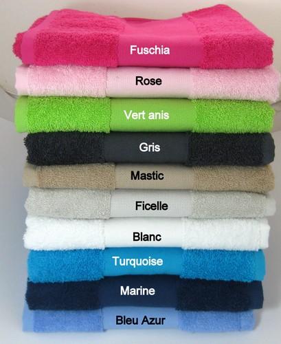 couleur de la serviette